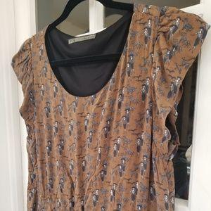 Zara - Rare Dress in Walking Dog Print